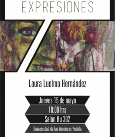 "2014, Individual Painting Exhibition Gallery ""Light of the Fridge"", UDLAP, Mexico"