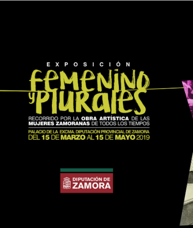 "2019 Collective Exhibition ""Feminine and Plural"". Palace of the Provincial General Council, Zamora."